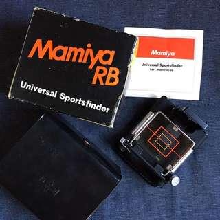 Rare Mamiya RB67 Universal Sports Finder Full Kit Near Mint