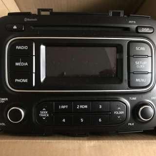 Bluetooth car stereo, brand new