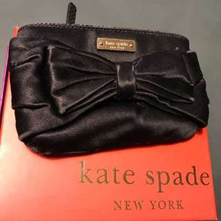 Kate spade black coins bag