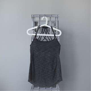 lululemon sport-bra + singlet