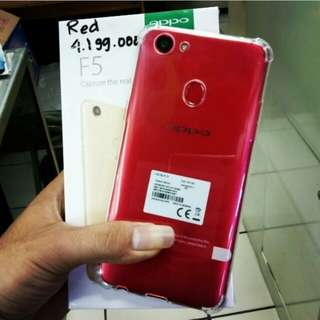 Oppo F5 4GB Red Black Gold