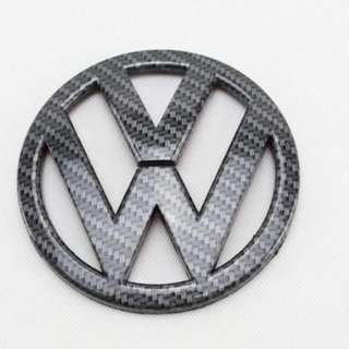 Volkswagen Scirocco Front And Rear Logo Emblem