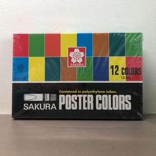 [BN] sakura poster colors, palette