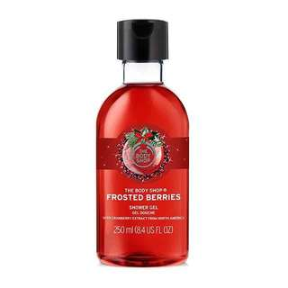 The Body Shop Frosted Berries Shower Gel