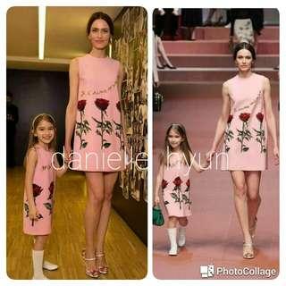 🐊D&G inspired  Mother & Daughter set