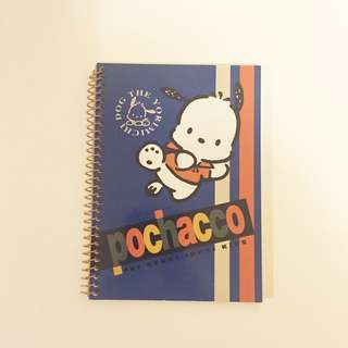 Sanrio vintage Pochacco PC 狗 pocket note 1996