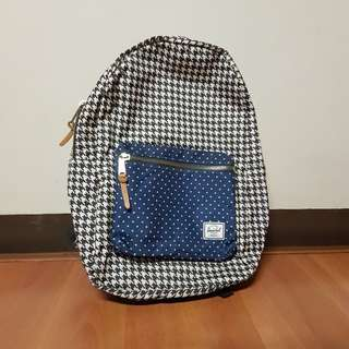 Herschel Settlement Backpack in Houndstooth