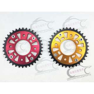 Honda MSX125 MSX125SF red gold Sprocket