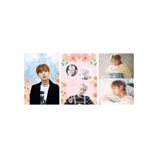 Jihoon 明信片
