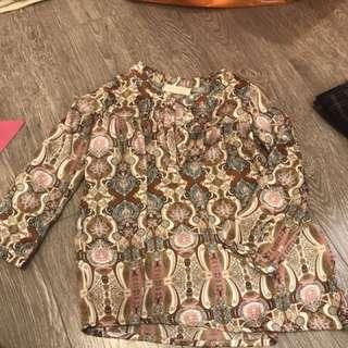 Batik sateen 3-5 thn (bisa jd top or dress)