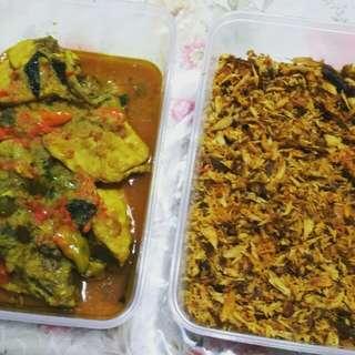 Ayam Woku & Cakalang Suwir