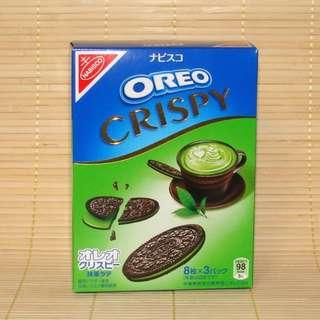 Oreo Crispy Greentea