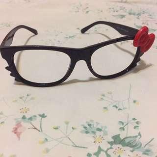 Hello Kitty no-lens glasses