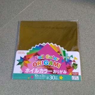 Foil Color Origami