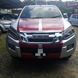 ISUZU D-MAX 2.5 MANUAL 4X4 2015