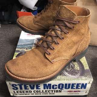 TOYS MCCOY STEVE MCQUEEN THE GREAT ESCAPE M-43 SERVICE BOOT ,SIZE 9