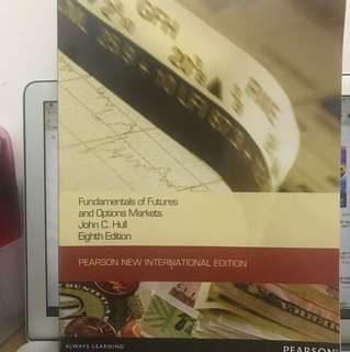 Fundamentals of futures and options markets by John C. Hull 8th edition