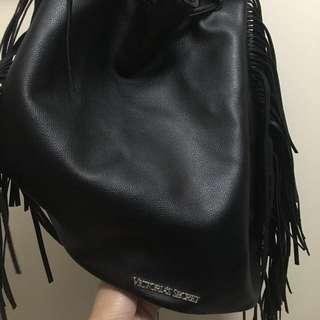 Victoria's Secret Black Backpack Bag