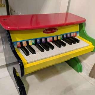 Preloved Melissa Doug Kids Piano