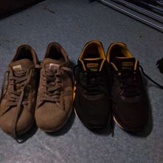 For sale my puma faas300 and adidas superstar canvass style original shoes