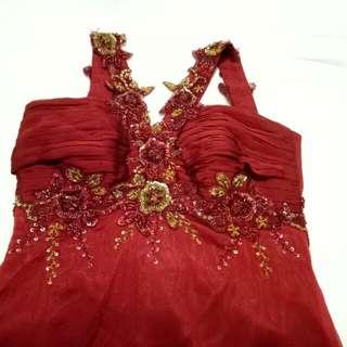 Premium Bridesmaid Long Dress