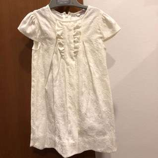Brand new Poney collection 3-4 years white flowery top