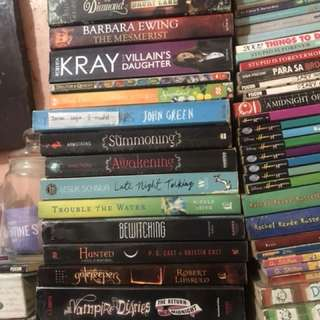Books for sale 100-200