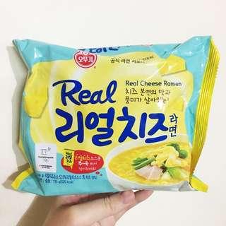 現貨🇰🇷不倒翁 Real Cheese Ramen 雙重芝士拉麵 Instant Noodles
