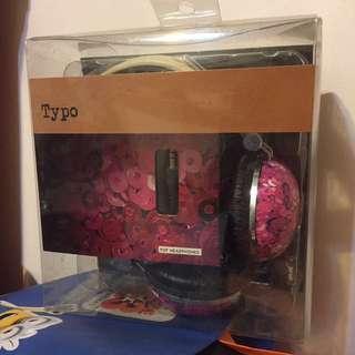 Typo Pop Headphones