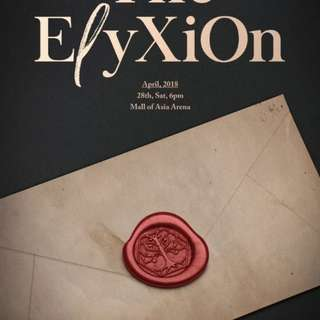 Elysion tickets concert for EXO