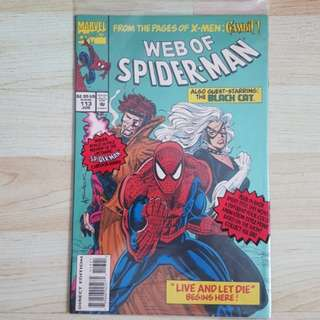 Marvel Comics Web of Spider-Man 113  Polybagged First Print