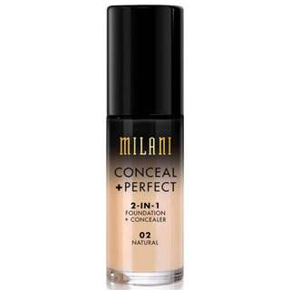 AUTHENTIC MILANI CONCEAL AND PERFECT FOUNDATION