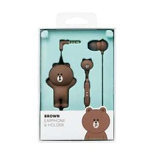 [2月日本代購團] 日本 line friends store日本限定 熊大耳機