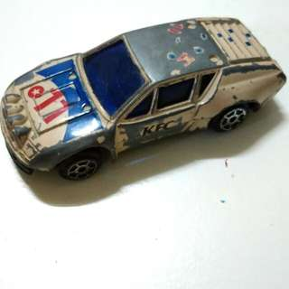 Vintage KFC Metal Car Toy