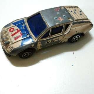 Vintage KFC Metal Car Toy