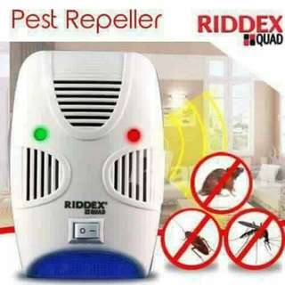 As Seen on TV Riddex Quad Pest Repelling Aid Features Sonic