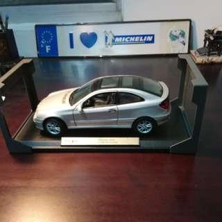 賓士C-Klasse sport 汽車模型