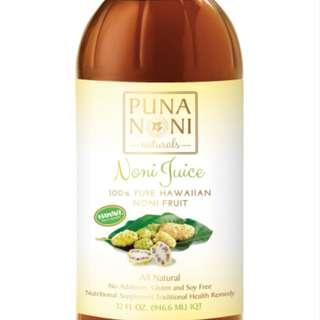 Puna Noni Juice 100% Pure 946.6ML