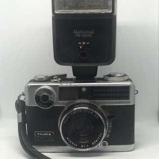 Vintage Fujica Camera with National Flash
