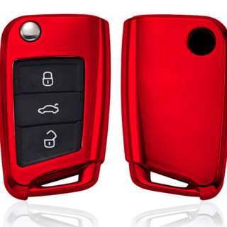 Protection key Case Cover for Volkswagen Car Key.