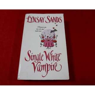 Single White Vampire by Lynsay Sands