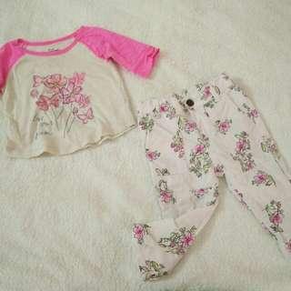 OshKosh Baby Girl T-shirt & Pants