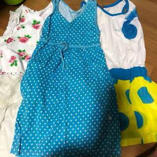 Girl Dress 1 for $1 (up to 7 years)