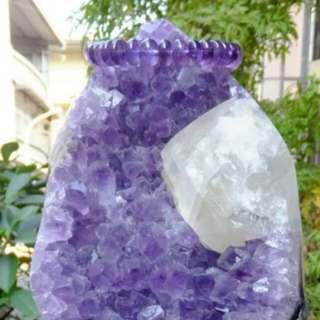 紫水晶擺飾