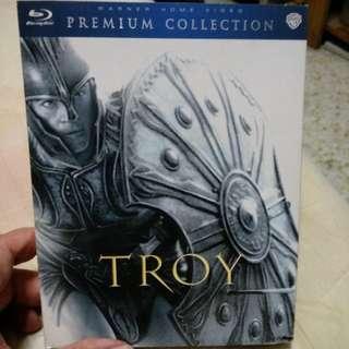 Blu ray, Troy, by Brad Pitt