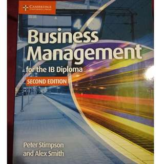 Business Management for the IB Diploma Coursebook - Second Edition