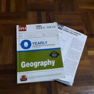 Geography TYS 2007-2016