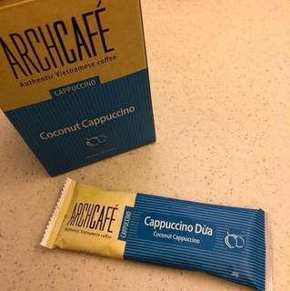 Coconut Cappuccino ArchCafe Vietnamese coffee 越南咖啡