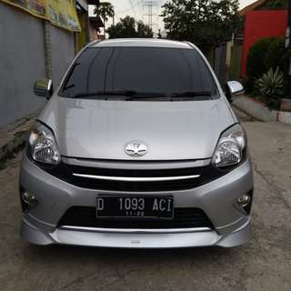 Agya g TRD manual 2014 Silver