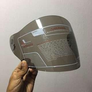 TRAX TR03ZR Light Smoke Visor